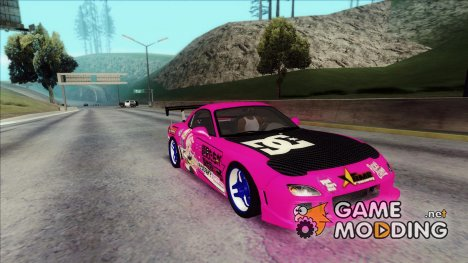 Mazda RX-7 - Itasha for GTA San Andreas