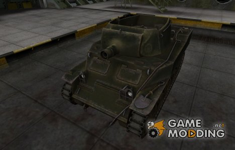 Шкурка для американского танка M8A1 for World of Tanks