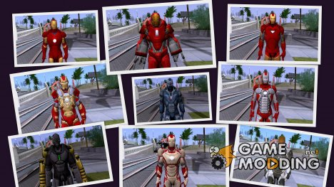 Iron Man Skins for GTA San Andreas