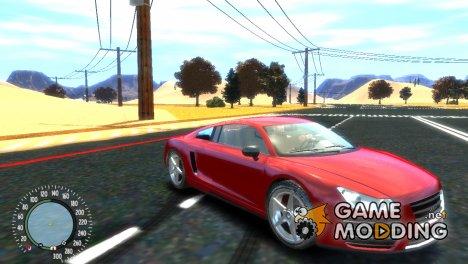 Obey 9f GTA V для GTA 4