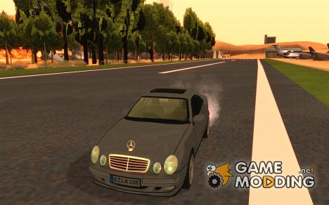 Mercedes-Benz CLK320 Coupe for GTA San Andreas