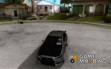 Mitsubishi Lancer Evo IX DIM for GTA San Andreas