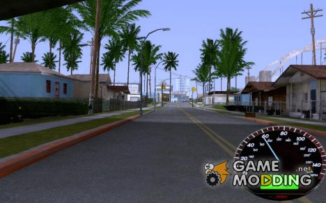 Спидометр for GTA San Andreas