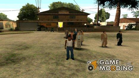 Скинпак старинной мафии для GTA San Andreas