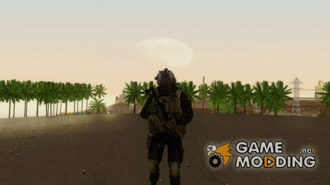 COD MW2 Shadow Company Soldier 1 for GTA San Andreas