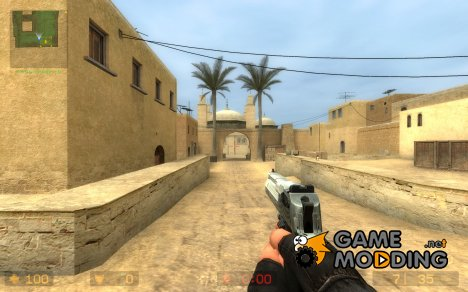 New Desert Eagle Animations для Counter-Strike Source