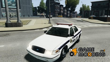 Ford Crown Victoria 2003 FBI Police V2.0 for GTA 4