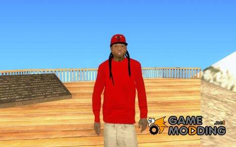 Lil Wayne for GTA San Andreas