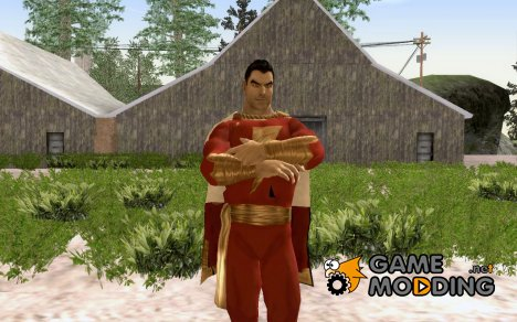 Shazam from Mortal Kombat vs DC Universe для GTA San Andreas