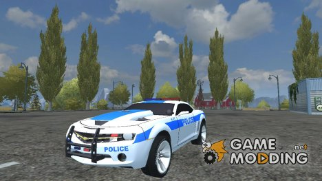 Chevrolet Police Camaro v 2.0 for Farming Simulator 2013