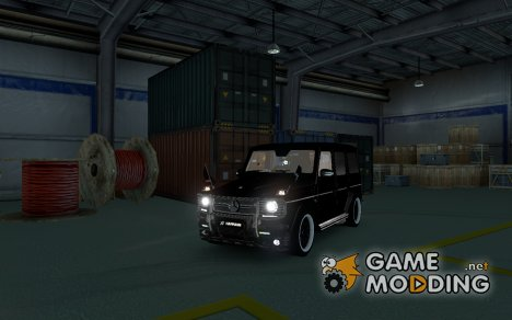 Mercedes-Benz G65 AMG for Euro Truck Simulator 2