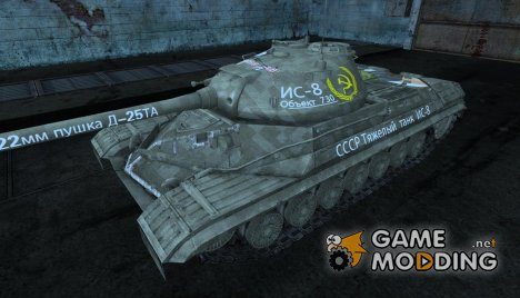 Шкурка для ИС-8 Anime skin для World of Tanks