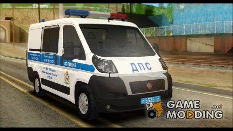 Fiat Ducato ДПС for GTA San Andreas
