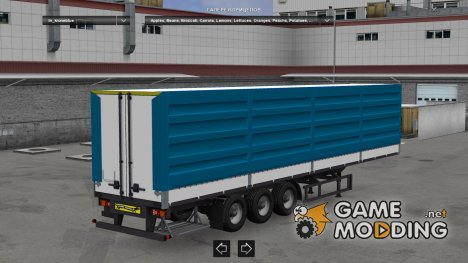 Standalone Krone Blue Trailer for Euro Truck Simulator 2