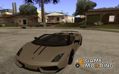 Lamborghini Gallardo LP570-4 for GTA San Andreas