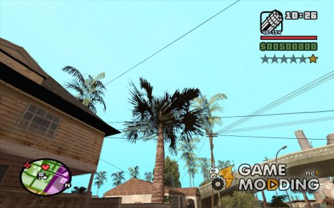 Новые звезды для худа №4 для GTA San Andreas