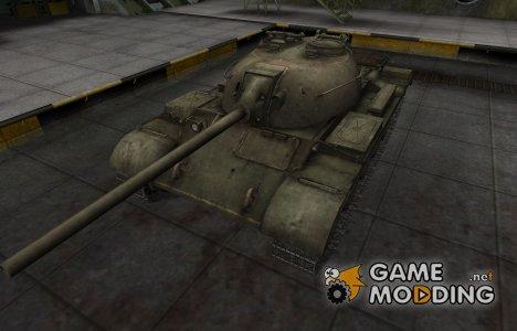 Шкурка для китайского танка T-34-2 для World of Tanks