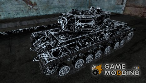 КВ-3  TRON skin для World of Tanks