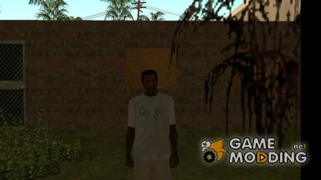 Футболка Google for GTA San Andreas