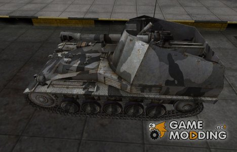 Шкурка для немецкого танка Wespe для World of Tanks