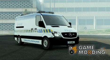 2014 Police Mercedes Sprinter for GTA 5