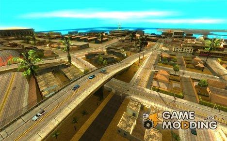 Качественные дороги в LS для GTA San Andreas