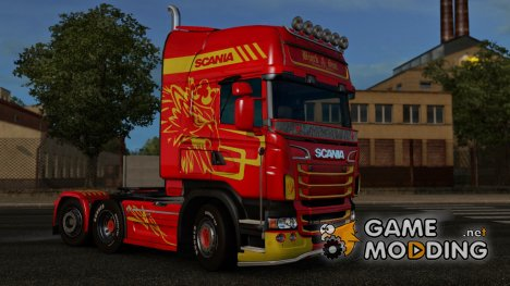 Скин Bjork ans son для Scania RjL for Euro Truck Simulator 2