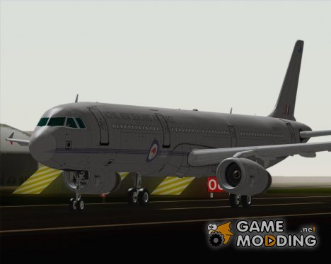Airbus A321-200 Royal New Zealand Air Force для GTA San Andreas