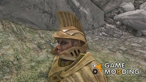 Dwarven Helmet - Open Faced Variation for TES V Skyrim