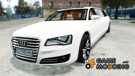 Audi A8 Limo v1.1 for GTA 4