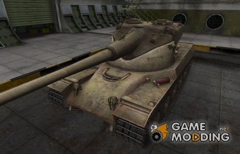 Пустынный французкий скин для AMX 50B for World of Tanks