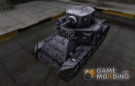 Темный скин для M2 Medium Tank for World of Tanks