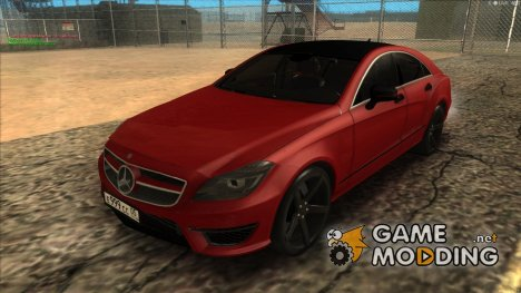 Mercedes-Menz CLS63 AMG for GTA San Andreas