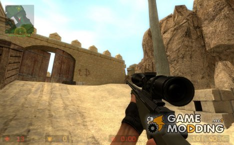 338. Cal L96A1 for Counter-Strike Source