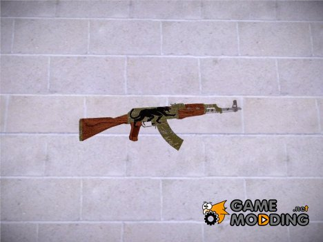 CSGO AK47 Jaguar for GTA San Andreas