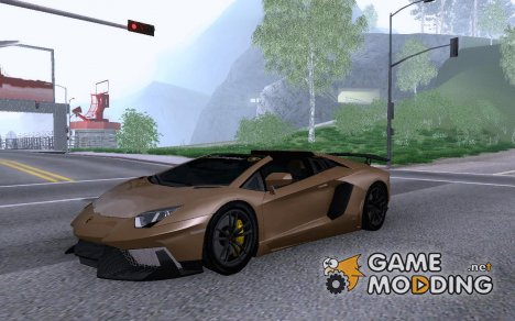 2013 Lamborghini Aventador LP700-4 Roadstar for GTA San Andreas