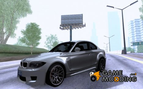 2011 BMW 1M E82 Coupe V2.0 for GTA San Andreas