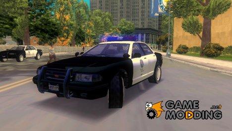 GTA 5 Vapid Stranier Police Cruiser for GTA 3