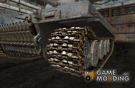 Замена гусениц для PzKpfw Tiger I