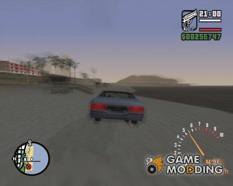 Супер ускорение for GTA San Andreas