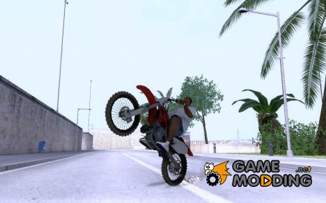 Honda CRF250R for GTA San Andreas