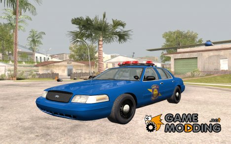 Ford Crown Victoria Michigan Police for GTA San Andreas