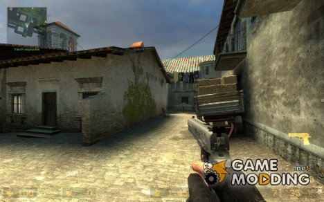Hardballer .45 UPDATED для Counter-Strike Source