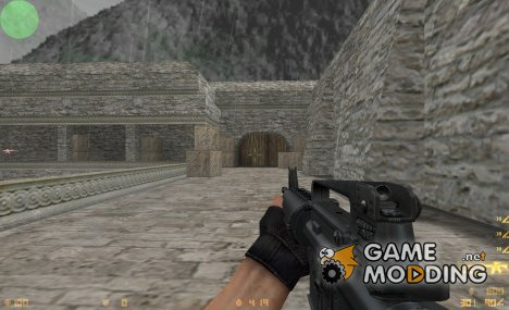 Soul Slayer & Kimono M4A1 on Zeej's Anims для Counter-Strike 1.6