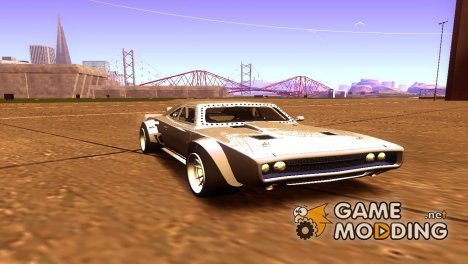 Dom's Dodge Ice Charger для GTA San Andreas