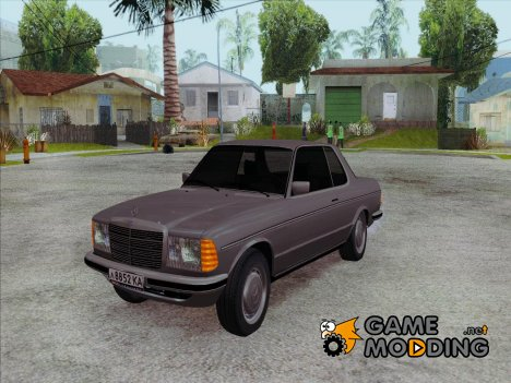 Mercedes 500SE 1985 for GTA San Andreas