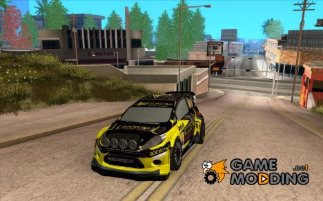 Ford Fiesta Rockstar Energy 2012 Tanner Foust для GTA San Andreas