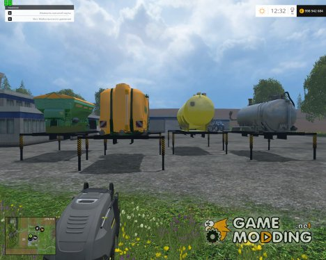 AR Fertilizers And Spraying V 1.1 для Farming Simulator 2015