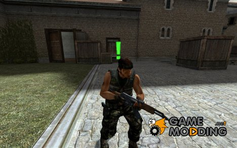 Rambo Skins для Counter-Strike Source