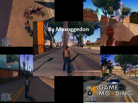 Небольшой пак полезных модов от Maxoggedon v2 для GTA San Andreas